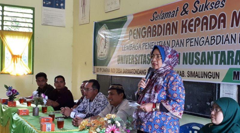 UMN Al-Washliyah Lakukan Pengabdian Masyarakat di Beberapa Desa