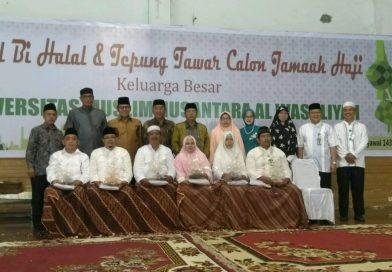UMN Al Washliyah Melaksanakan Halal Bi Halal dan Tepung Tawar Jemaah Haji