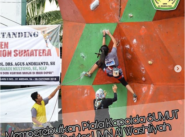 Wall Climbing Competition