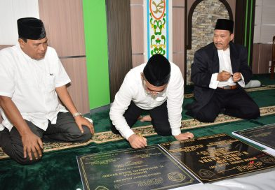 Peresmian Mesjid H. Ismail Banda