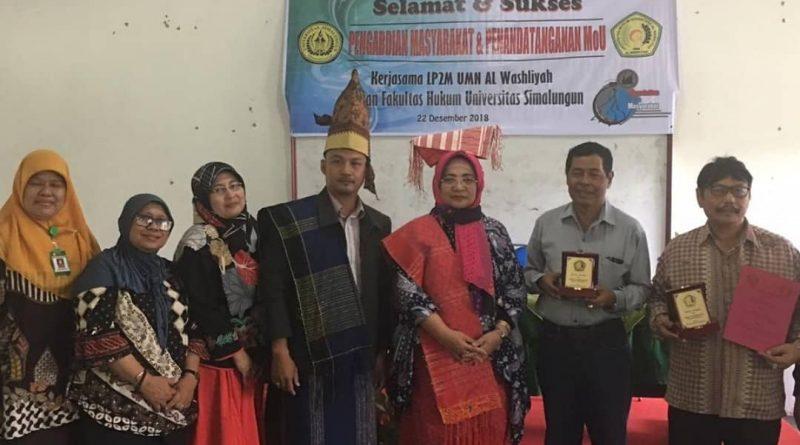 Fakultas Hukum UMN Al Washliyah dan Universitas Simalungun MoU Bidang PPM