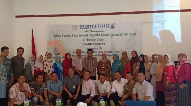 Coaching Clinic Proposal Pengabdian Kepada Masyarakat Multi Talent