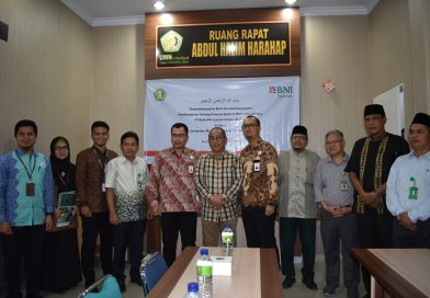Penandatanganan MoU dan Akad Kerjasama PT Bank BNI Syariah Cabang Medan Dengan UMN Al Washliyah