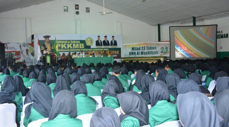 Pengenalan Kehidupan Kampus Bagi Mahasiswa Baru UMN Al Washliyah Tahun Akademik 2019-2020
