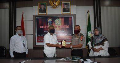 Kesepakatan bersama antara POLRES Pelabuhan Belawan dan Universitas Muslim Nusantara Al Washliyah