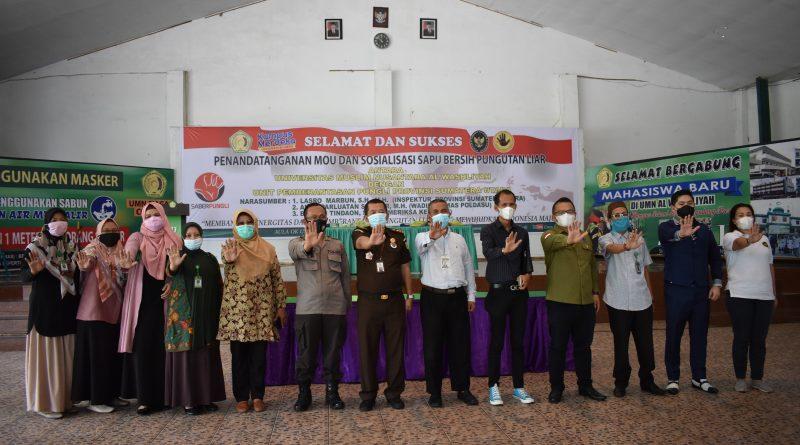 Penandatangan MOU Dan Sosialisasi Saber Pungli